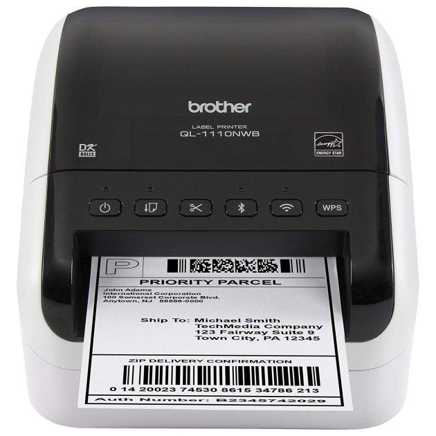 (原廠公司貨)Brother QL-1110NWB 專業大尺寸條碼標籤列印機
