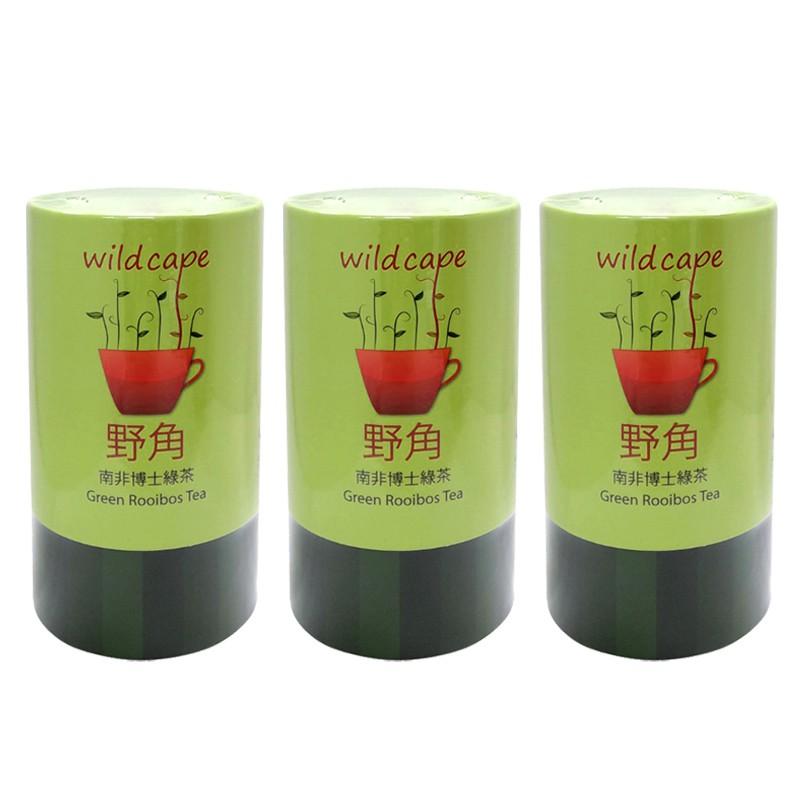 南非國寶茶Wild Cape 野角南非博士綠茶-40包/罐*3罐
