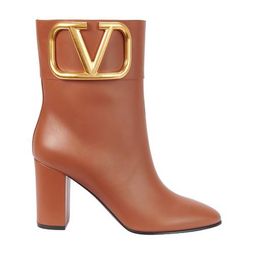 Valentino Garavani logo Boots