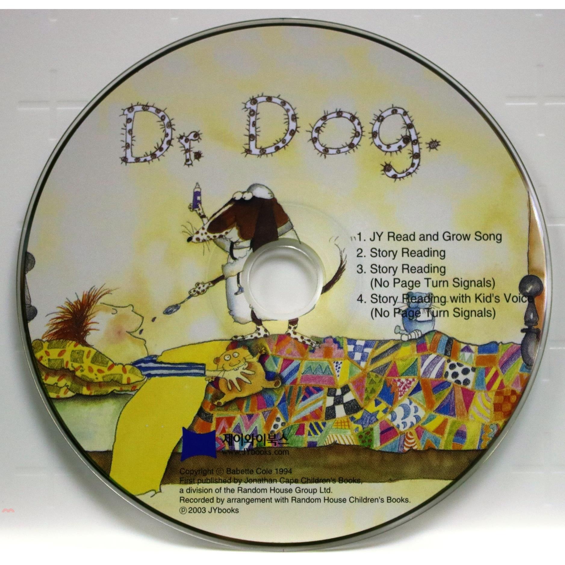 Dr. Dog (1CD only)(韓國JY Books版)【三民網路書店】[73折]