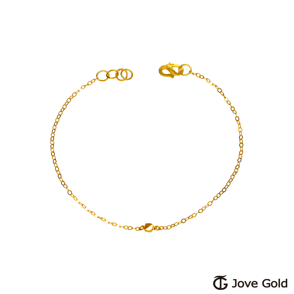 Jove Gold 漾金飾 自信黃金手鍊