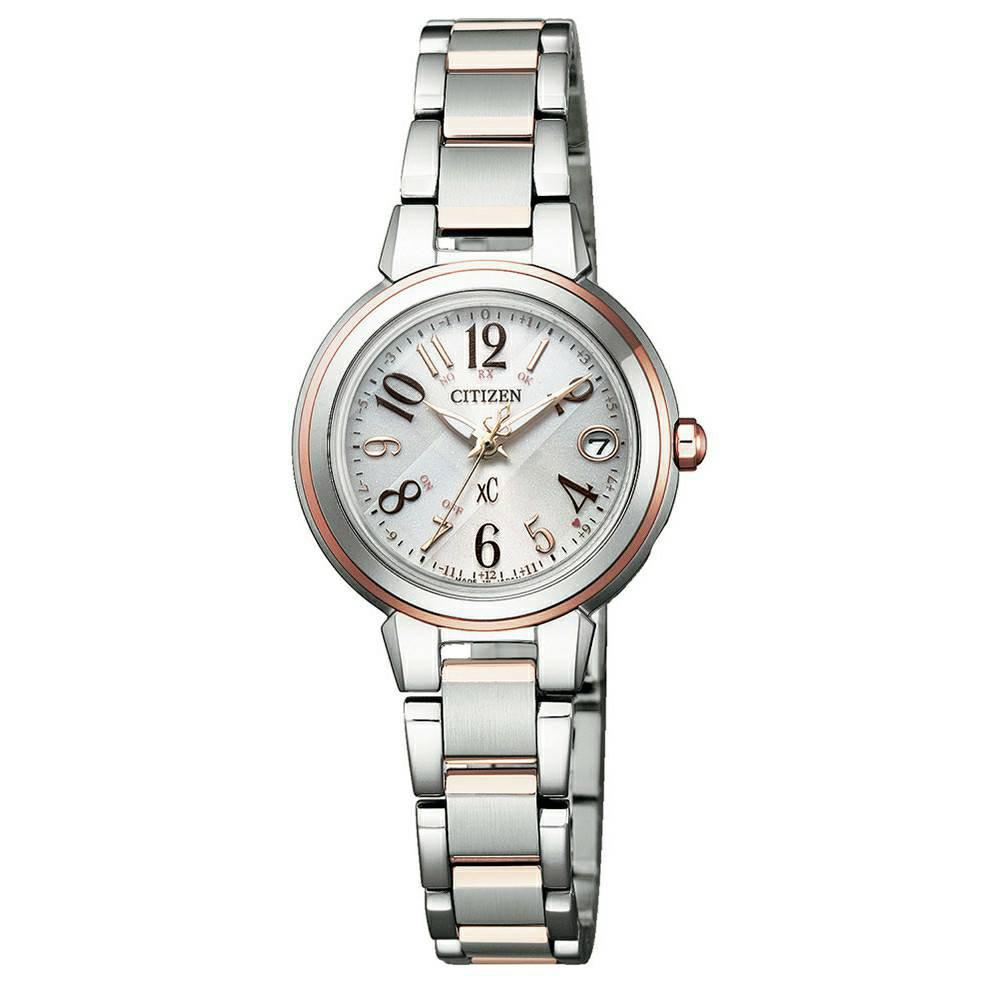CITIZEN星辰 ES9434-53X 光動能電波對時萬年曆腕錶 麗寶錶樂園