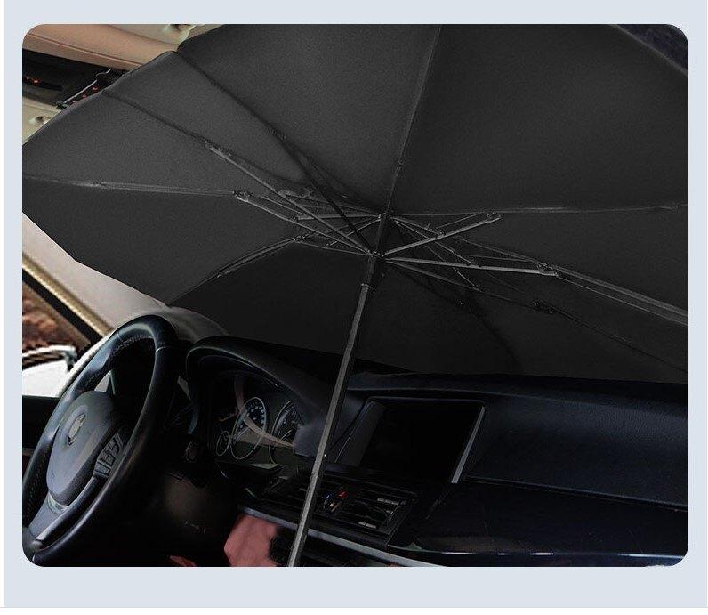 寶貝屋 汽車遮陽傘 隔熱板 前檔遮光罩 遮陽 傘罩式遮陽板 遮陽簾 隔熱布 汽車擋光板
