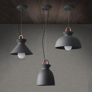 【H&R安室家】銅管線圈吊燈A款-28x22cm