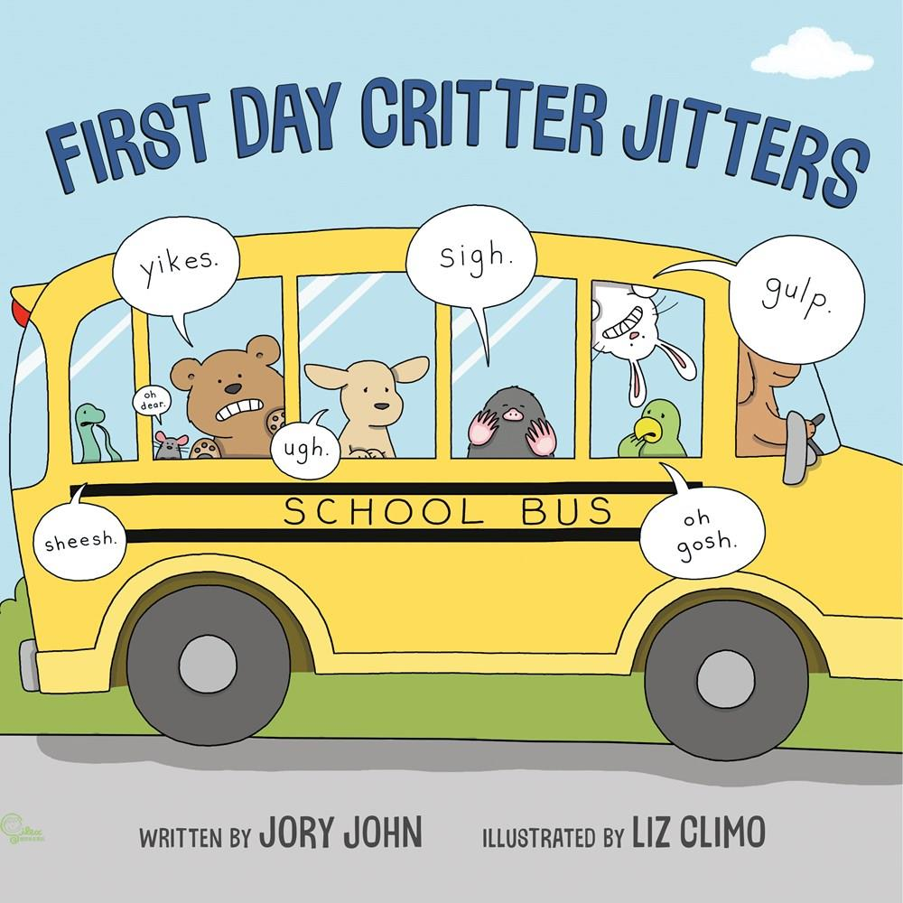 First Day Critter Jitters【禮筑外文書店】(精裝)[79折]
