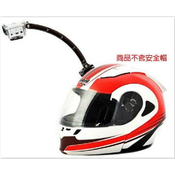 【eYe攝影】GoPro HERO 4 3 副廠配件 安全帽延長桿 延長臂 頭盔彎型自拍桿套組 自拍架 自拍桿 安全帽前掛 快扣 越野車 賽車