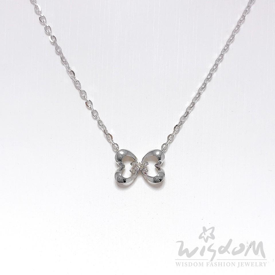 威世登 結愛-14K金鑽石項鍊 DB01789-2-ADHXX