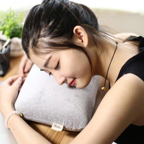 午睡枕頭辦公室午休神器學生趴睡枕抱枕成人午覺小枕頭記憶棉頭枕