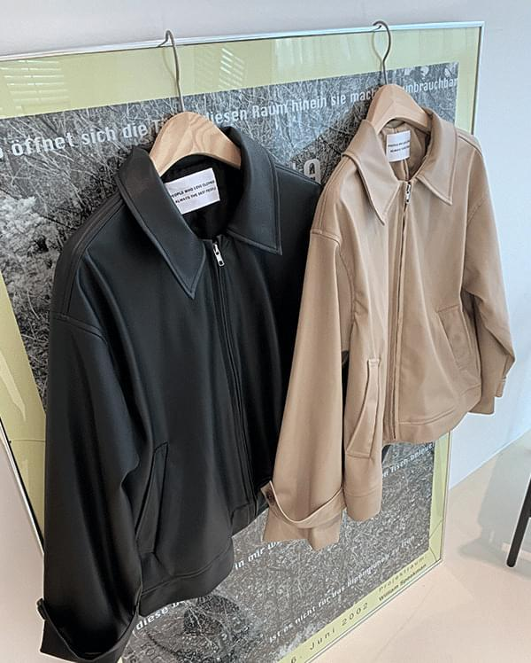 韓國空運 - #made some overfit single rider jacket 夾克外套