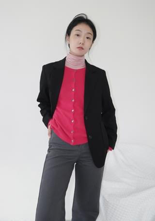 韓國空運 - soft touch classic jacket 夾克