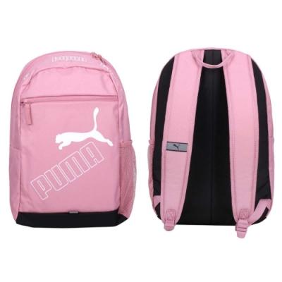 PUMA 大型後背包-肩背包 雙肩包 筆電包 15吋筆電 旅行包 20L 07729503 莓紫