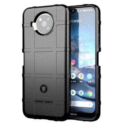 御殼坊 Nokia 8.3 抗震防摔-高規防護盾-黑