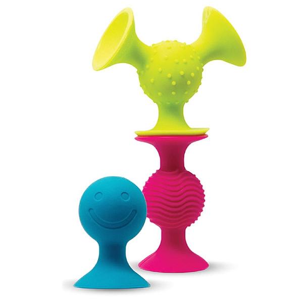 美國 FatBrain 觸覺吸盤球 感統玩具|益智玩具