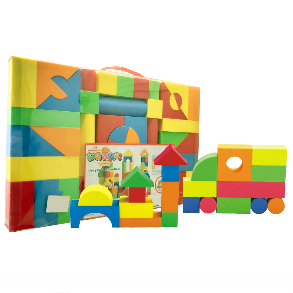 【GCT玩具嚴選】54PCS盒裝EVA積木組