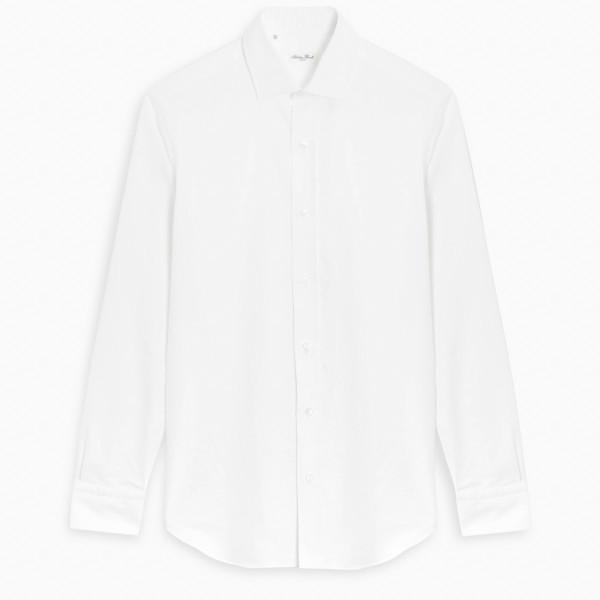 Salvatore Piccolo White cotton formal shirt