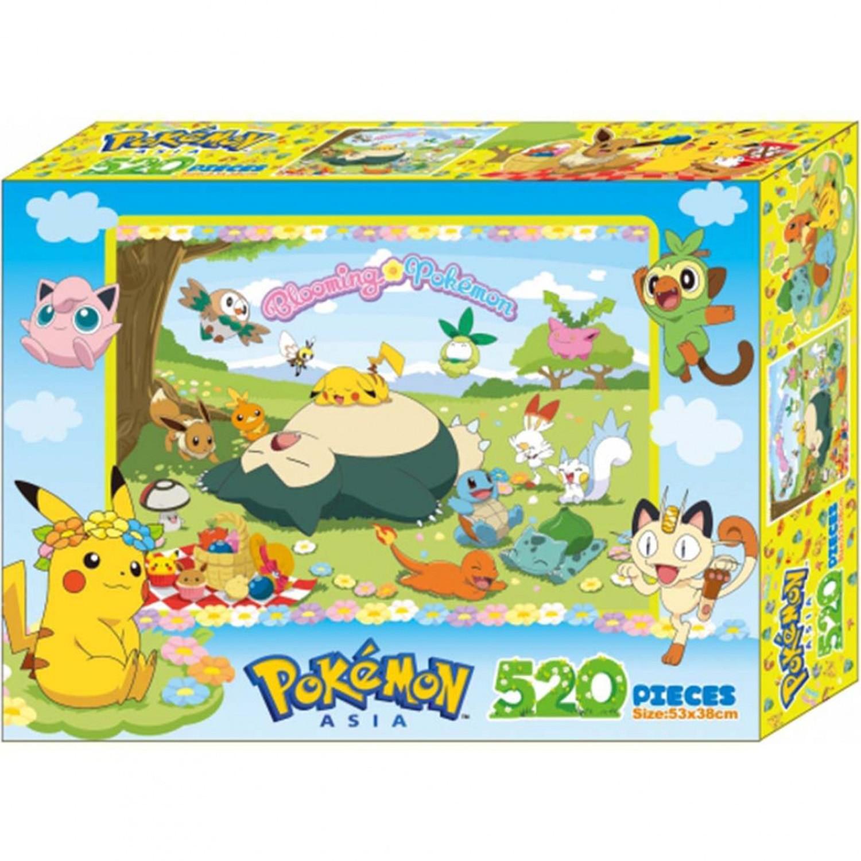 寶可夢 Pokemon - 寶可夢520片盒裝拼圖©