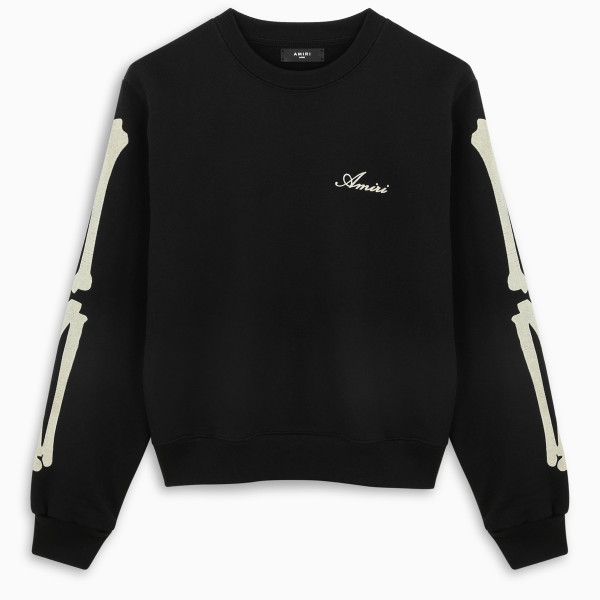 AMIRI Black Bone Logo sweatshirt