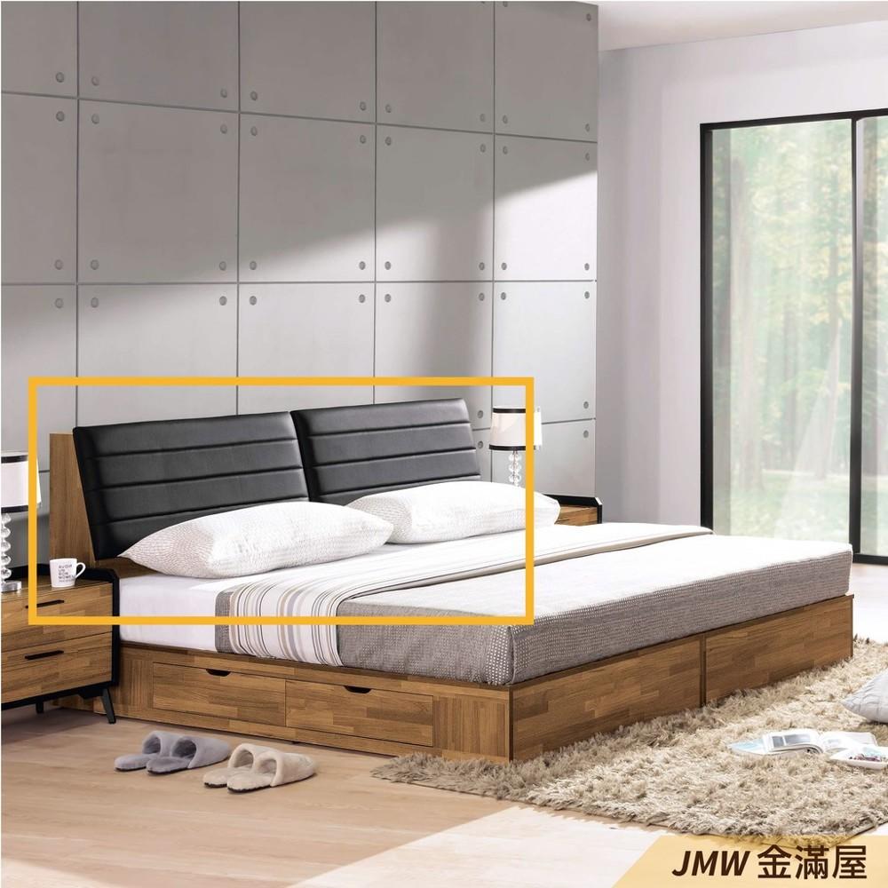 雙人加大6尺 床頭片 床頭櫃 單人床片 貓抓皮 亞麻布 貓抓布金滿屋j66-04 -