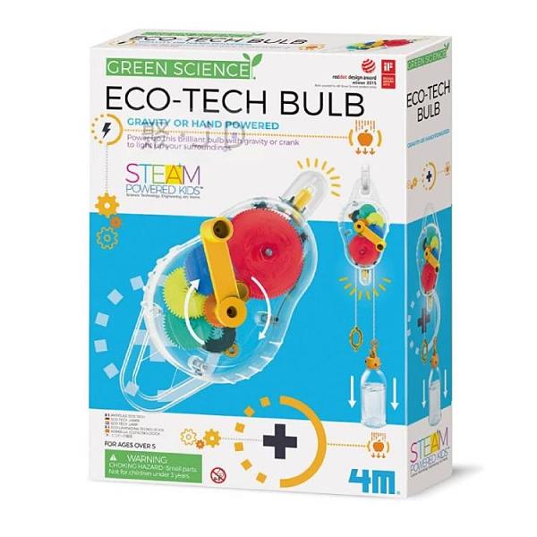 【4M】03426 科學探索系列 環保動力燈 Eco-Tech Bulb
