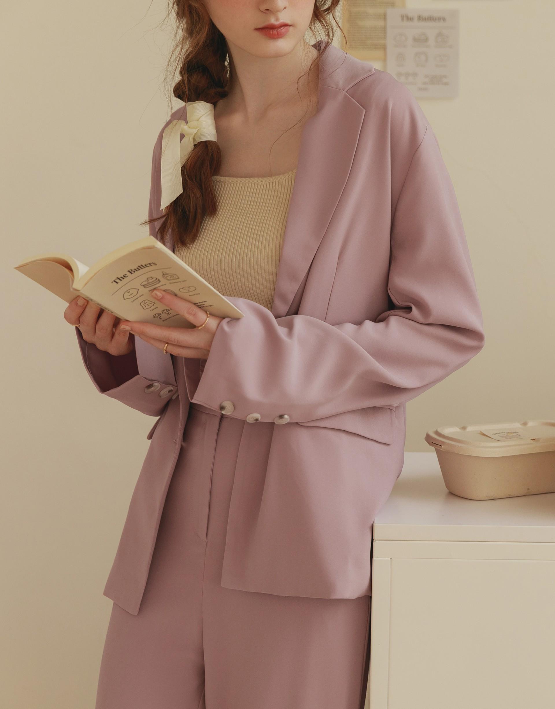 PAZZO+時髦小姐姐質感西裝外套