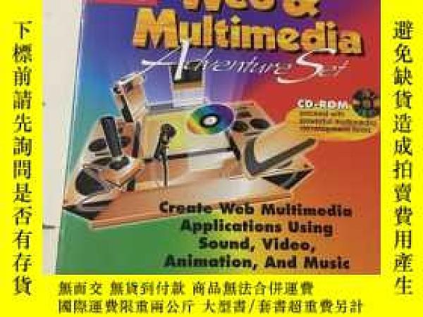 二手書博民逛書店Visual罕見Basic 5 Web and Multimed