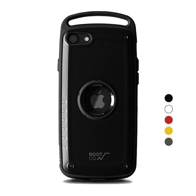 iPhone SE 2020 Gravity Pro 單掛勾式軍規防摔手機保護殼 - 共五色 黑色