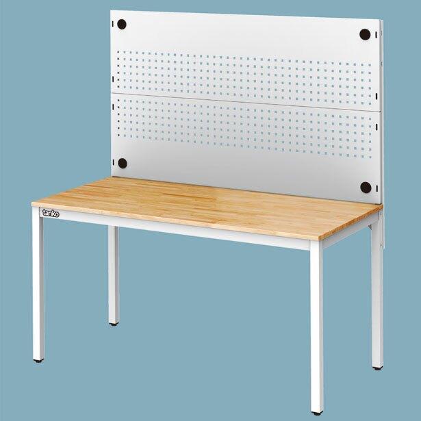 【辦公嚴選】天鋼 WE-58W+WQE-53 多功能桌 掛板 洞洞板 工業風 多用途桌 原木桌 萬用桌 耐用桌 工作桌