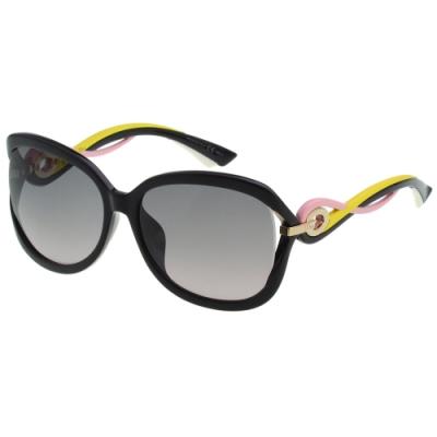 Dior 太陽眼鏡(黑配粉配黃色)DIOR-TWISTINGF