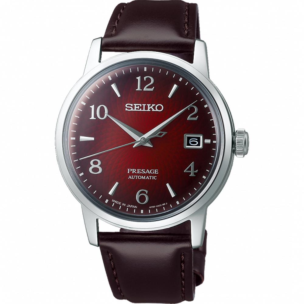 SEIKO 精工 Presage  Cocktail 調酒師系列機械錶 4R35-04A0R SRPE41J1