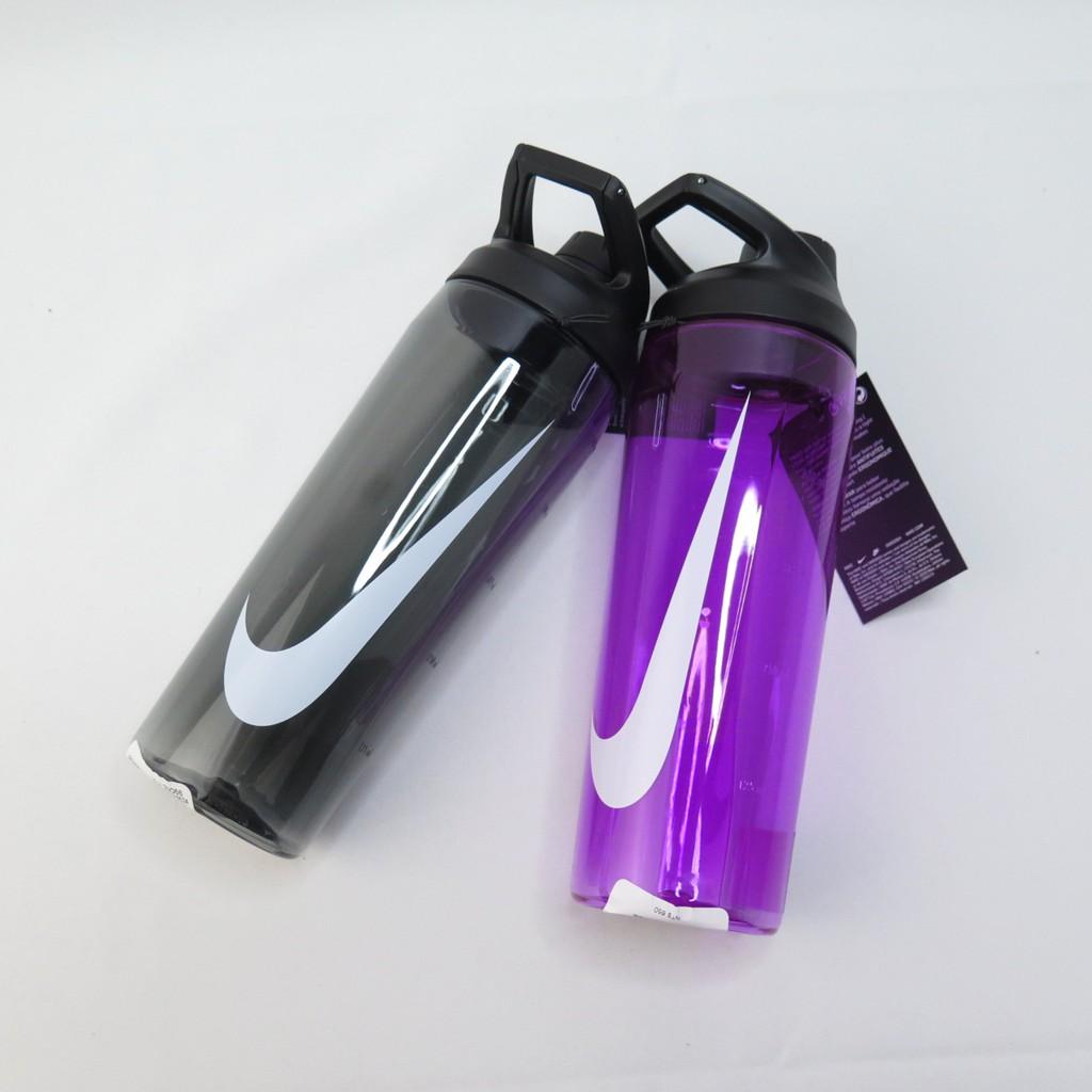 NIKE 大口徑水壺 24OZ 冷水壺 兩色 剩62265024紫