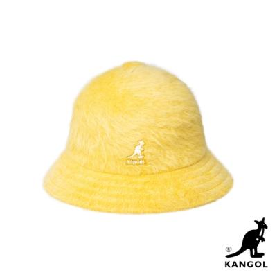 KANGOL-FURGORA鐘型帽-黃色