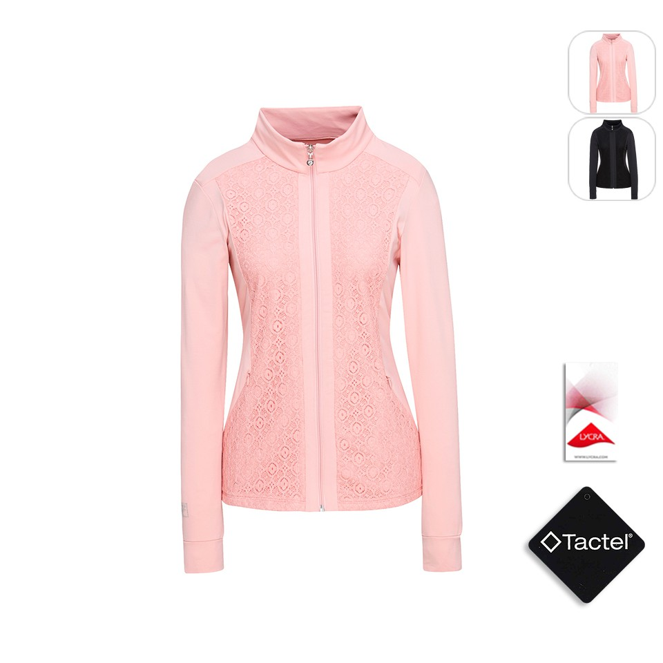 【FILA】女性 針織外套-粉色 5JKT-1608-PK
