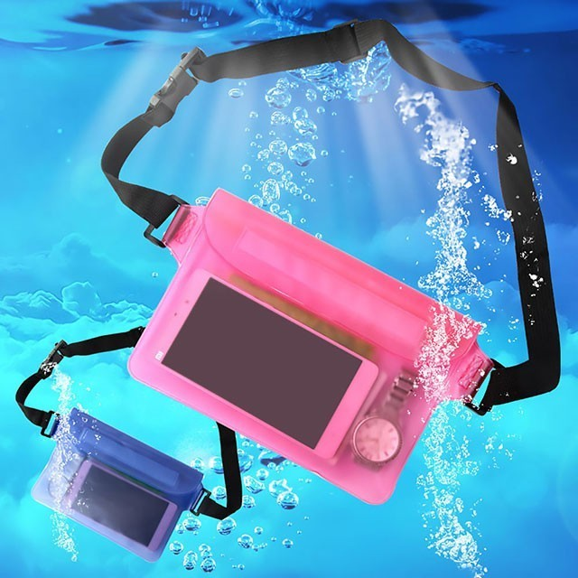 多功能防水背袋 大尺寸通用 手機防水袋 游泳 防水套 手機袋 防水保護套 防水手機套 防水袋