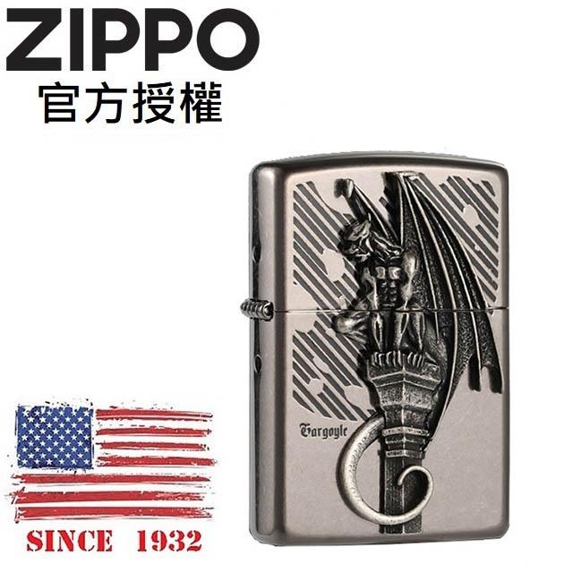 ZIPPO Gargoyle 1 BA 石像鬼雕像防風打火機