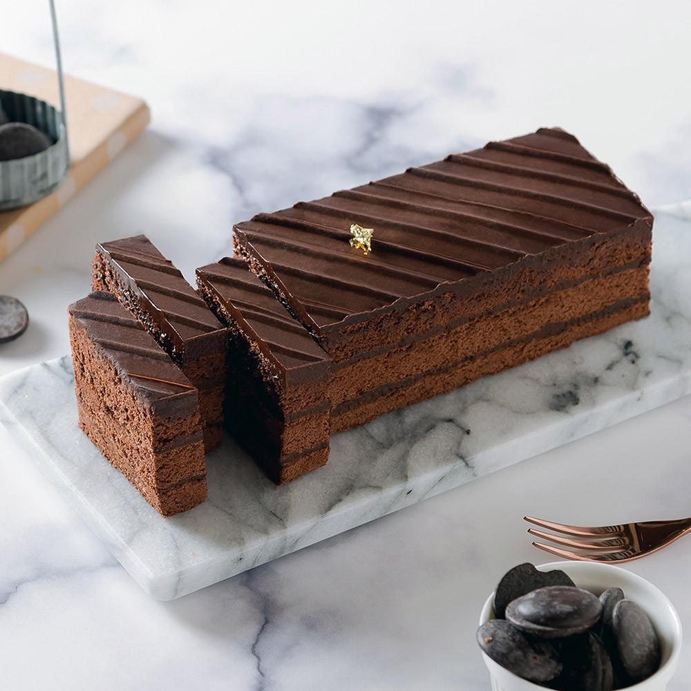 艾波索 巧克力黑金磚18公分 蘋果日報蛋糕評比冠軍 News金探號節目熱情推薦(1/2/4入)廠商直送