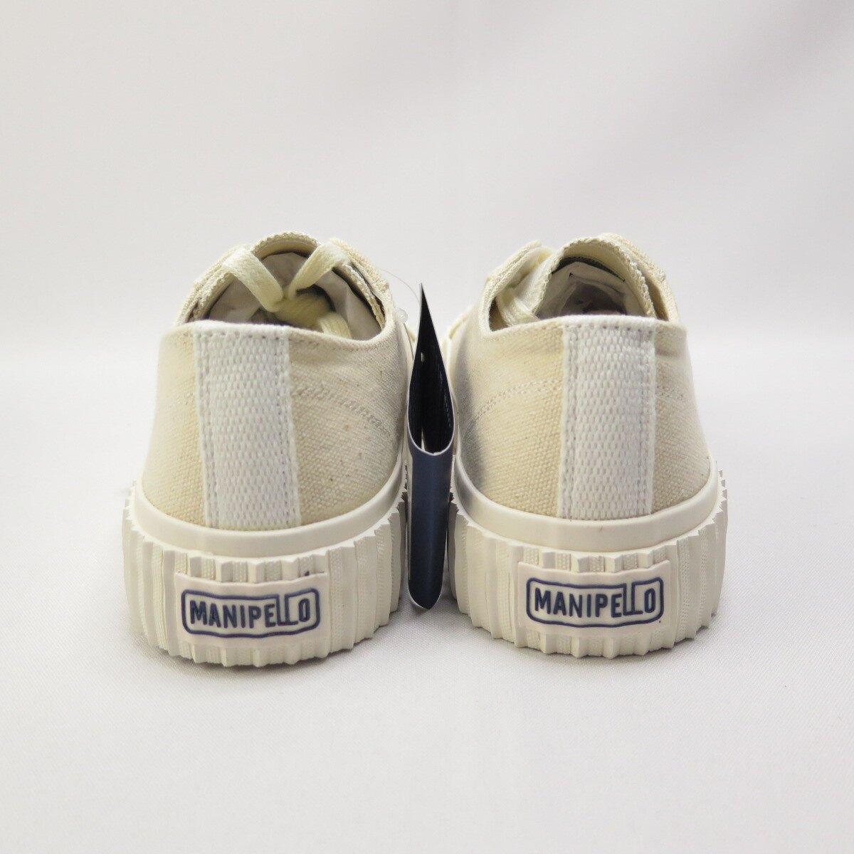 【滿額領券折$150】MANIPELLO MIX-IVY 帆布餅乾鞋 正品 FLMPAA1U21 男女款 奶茶色【iSport愛運動】