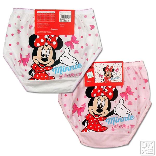 迪士尼 米妮 兒童三角褲 內褲 MN-CG002-1 (2件)【DK大王】