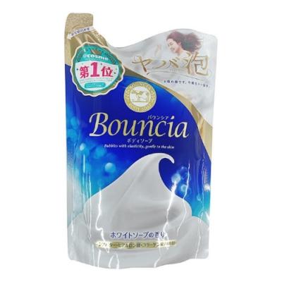 日本 牛乳石鹼 Bounica美肌保濕沐浴乳 皂香補充包400ml