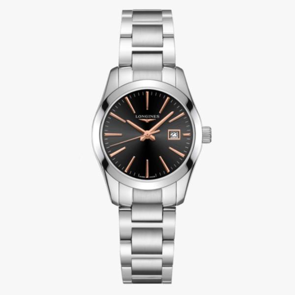 LONGINES 浪琴 L22864526 征服者系列腕錶 29.5mm