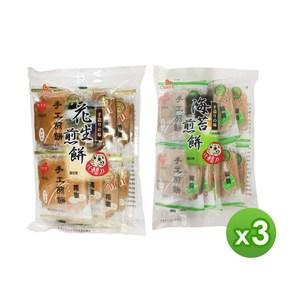 【巧益】手工煎餅(花生/海苔)(180g)_任選3包海苔x3