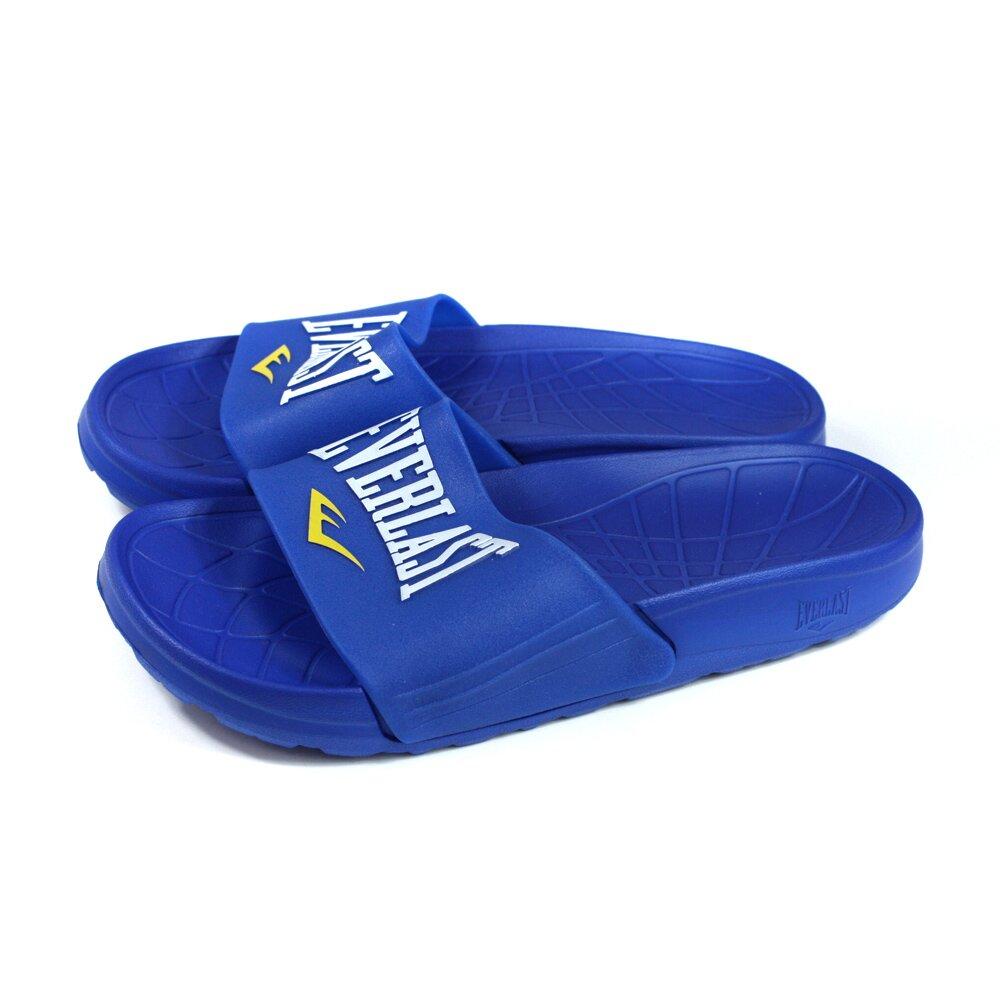 EVERLAST 拖鞋 戶外 男鞋 藍色 4025220280 no123