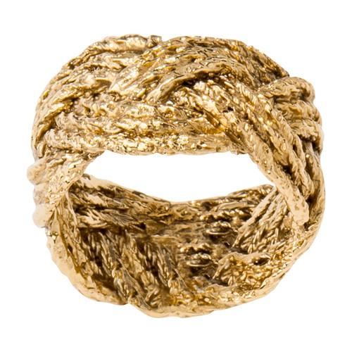 Miki braided ring