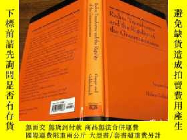二手書博民逛書店Radon罕見Transforms and the Rigidity of the Grassmannians