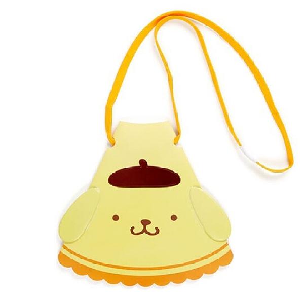 小禮堂 布丁狗 造型掛繩傳聲筒 折疊擴音器 隨身擴音器 (黃 應援啦啦隊) 4550337-64630