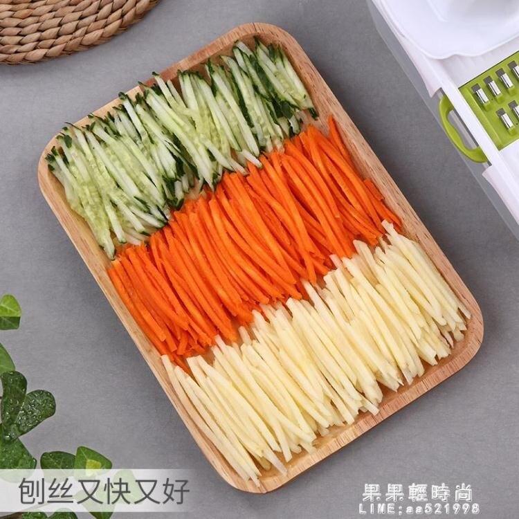 土豆絲切絲器切菜神器滾筒廚房多功能刮絲擦子擦絲家用切條刨絲器【精品】