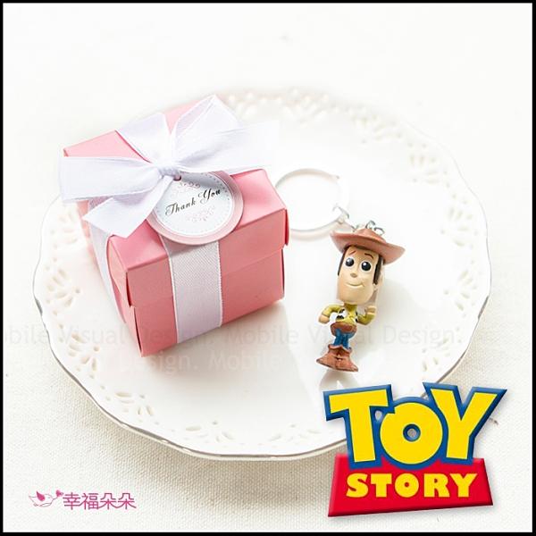 Pink盒裝玩具總動員鑰匙圈(款式隨機出貨) 婚禮小物 生日分享 探房禮 伴郎禮 送花童 遊戲抽獎
