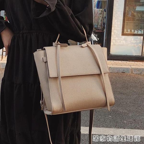 手提包女新款潮韓版百搭斜背包時尚大氣大容量洋氣手提包