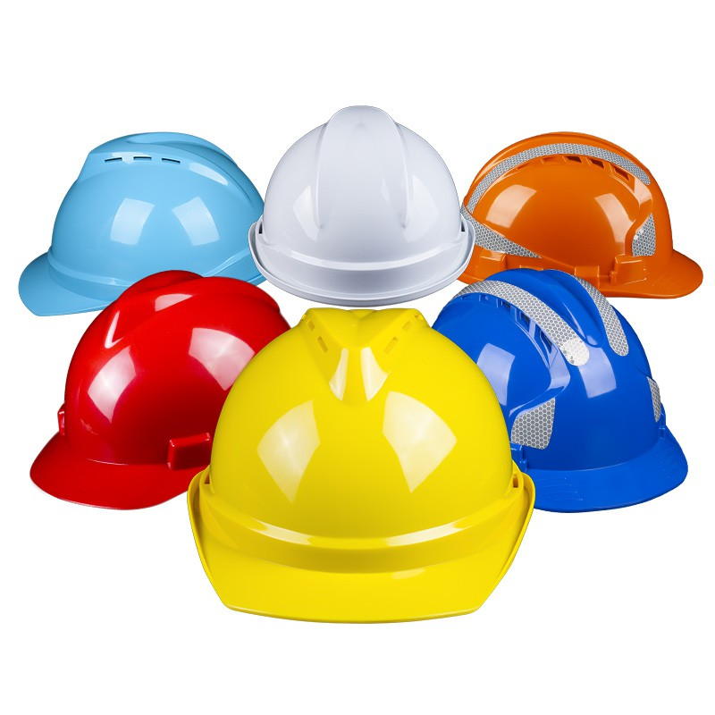 安全帽 安全帽工地透氣國標加厚頭盔施工建筑工程電力防護帽男士定制LOGO