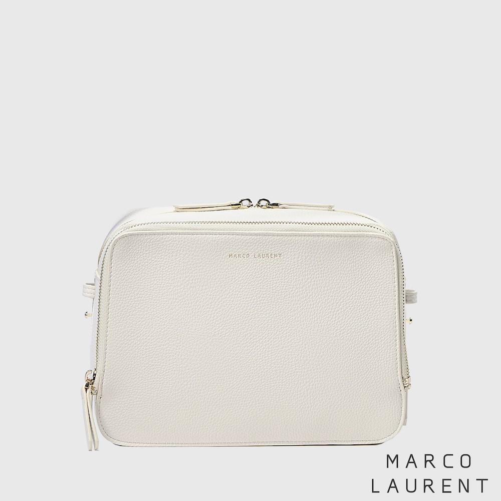 MARCO LAURENT - Blink 雙層肩背方包 白色