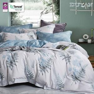 《DUYAN 竹漾》天絲雙人床包三件組-荷塘月色 台灣製